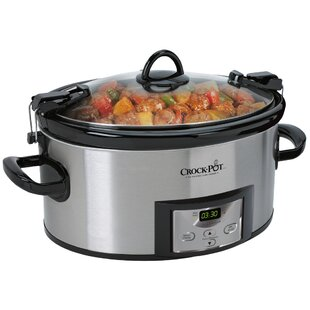 Programmable Cook and Carry™ 6 Qt. Oval Slow Cooker