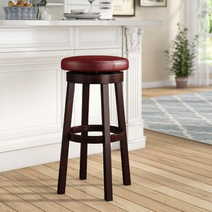 Chesterhill Bar & Counter Swivel Stool by Red Barrel Studio