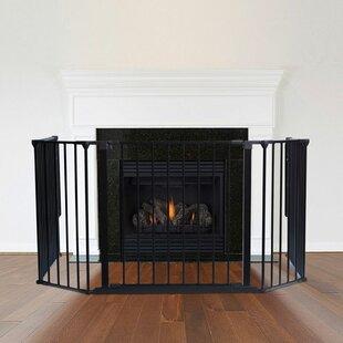 Metal Fireplace Screen By Belfry Heating