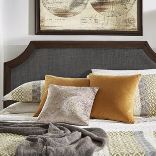 Britney Linen Arched Bridge Upholstered Panel Headboard by Birch Lane™ Heritage