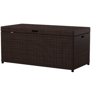 Belton Wicker Deck Box by Mercury Row