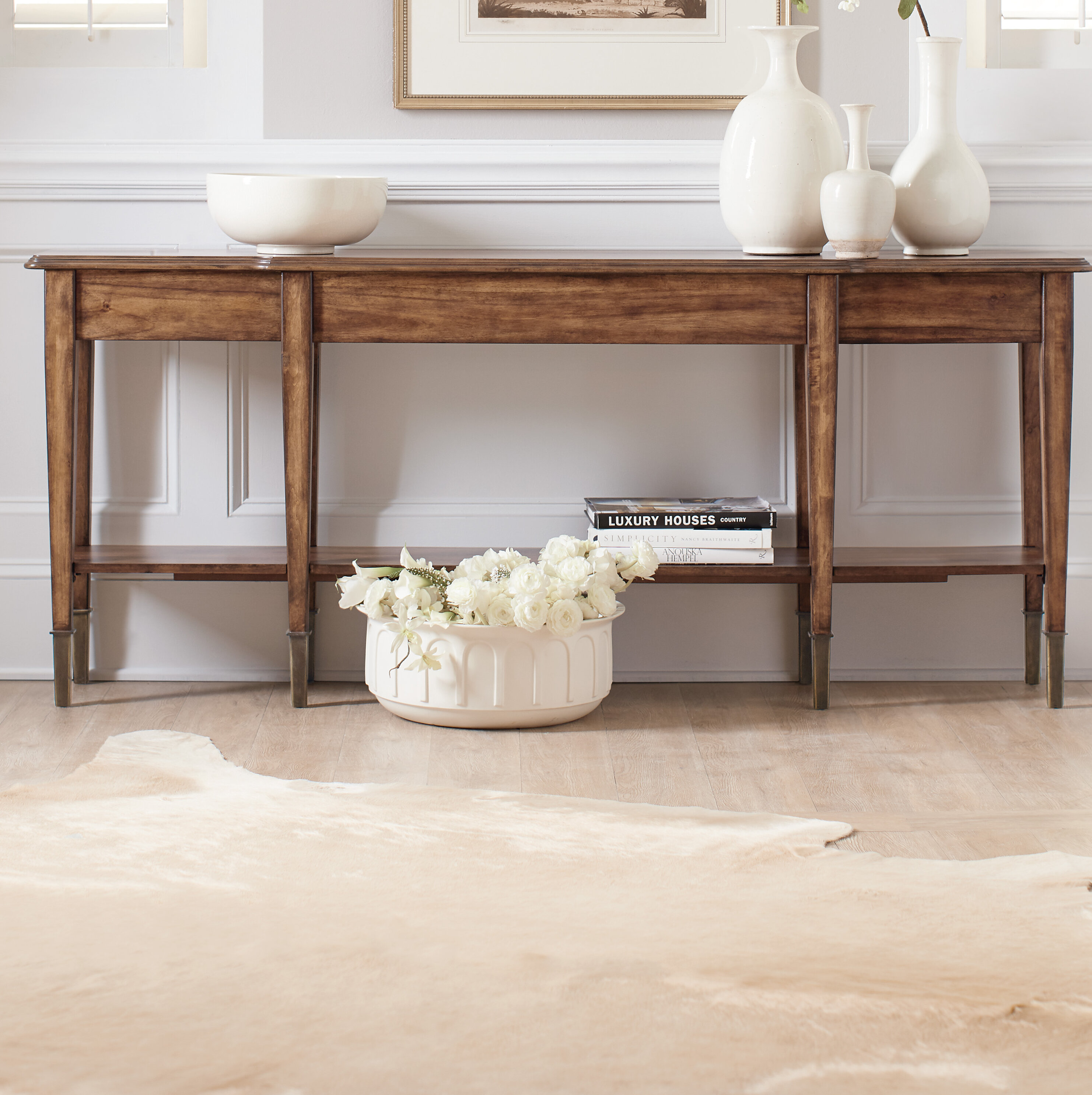 Furniture Skinny Console Table
