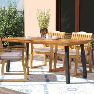 Isidore Solid Wood Dining Table