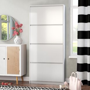 Inexpensive Ridgley 4 Drawer Shoe Storage Cabinet By Rebrilliant