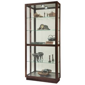 Jayden Lighted Curio Cabinet by Howard Miller?