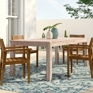 Darrin Solid Wood Dining Table by Mistana