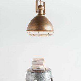 Hallam 1-Light Bell Pendant by Williston Forge