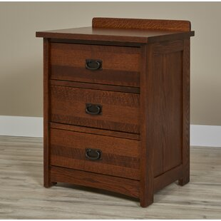 Linnea 3 Drawer Nightstand by Millwood Pines
