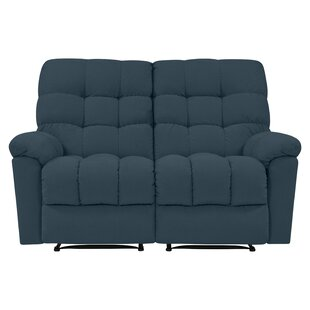 Maxfield Tufted Reclining Loveseat by Red Barrel Studio