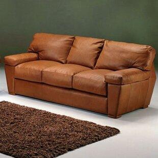 Omnia Leather Prescott Leather Sofa