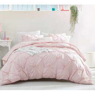 Netto Pintuck 3 Piece Duvet Cover Set