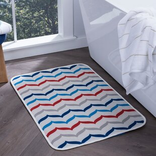 Finnigan Fish Tails Foam Core Comfort Bath Rug