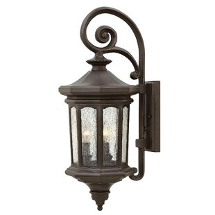 Raley 3-Light Outdoor Wall Lantern by Hin..