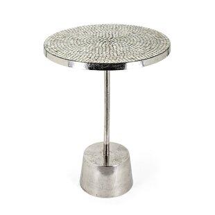 Whittier Metallic End Table by Mercer41