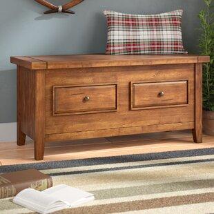 Sienna Wood Storage Bench ..