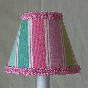Special Rainbow Stripe 11 Fabric Empire Lamp Shade