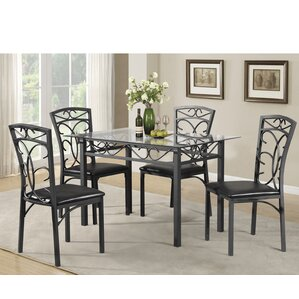 Dearborn 5 Piece Dining Set by Red Barrel Studio
