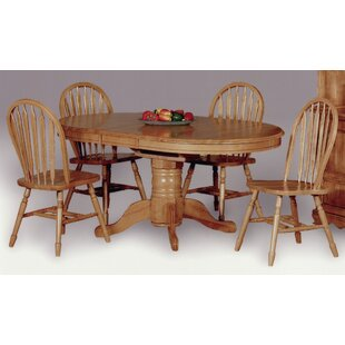 Copernicus 5 Piece Dining Set Loon Peak