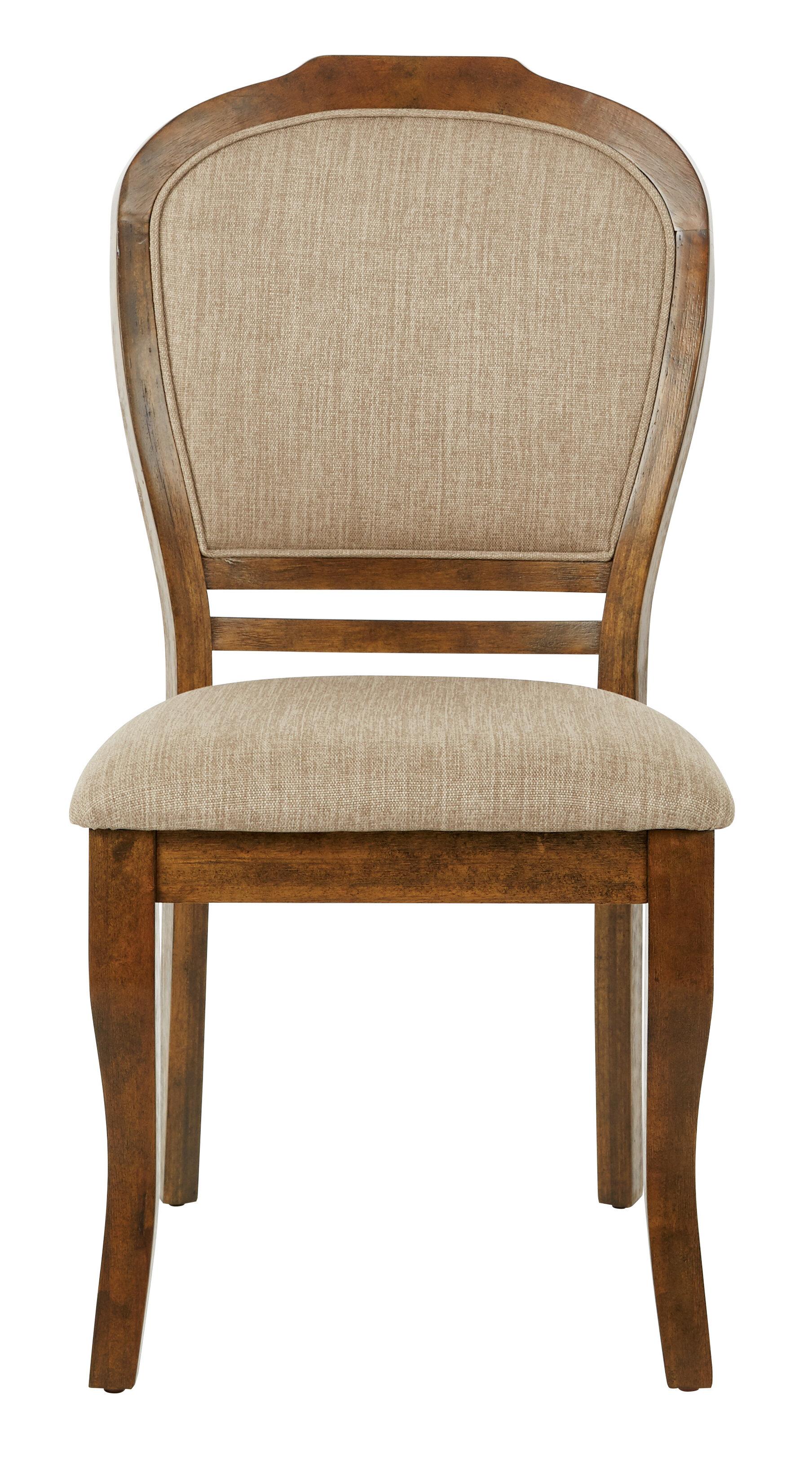 Gracie Oaks Hefner Upholstered Dining Chair Wayfair