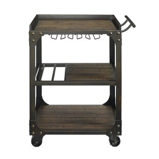 Duane Wine Bar Cart by 17 Stories
