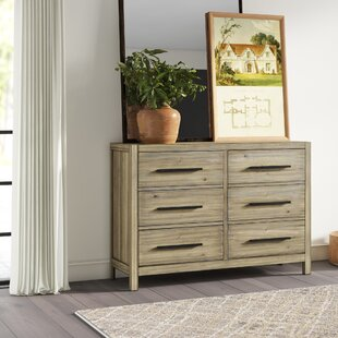 Peres 6 Drawer Double Dresser