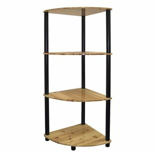 Ivy Hill Corner Unit Bookcase by Wrought Studio Today Sale Only