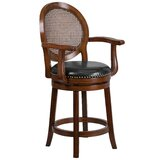 Nyo Swivel Bar & Counter Stool by Darby Home Co