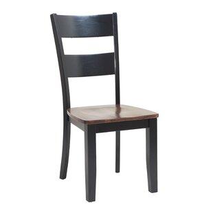 Jesenof Ladder Back Solid Wood Dining Cha..