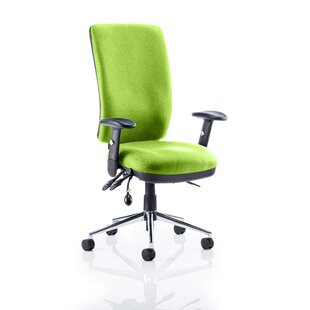 High-Back Desk Chair By Symple Stuff