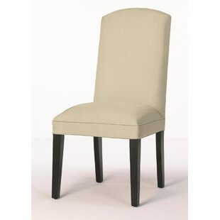 Crescent Back Upholstered Dining Chair by Sloane Whitney