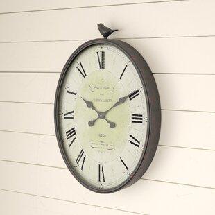 Bird Clock Wayfair