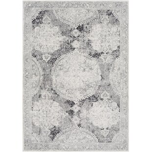 Buy Arteaga Gray/White Area Rug By Bungalow Rose