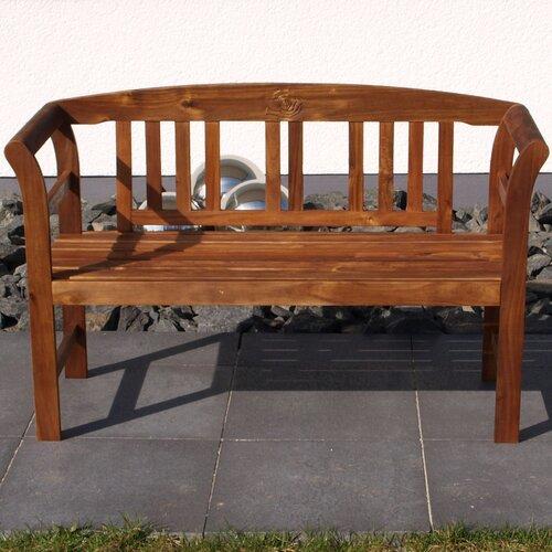 Gartenbank aus Massivholz | Garten > Gartenmöbel > Gartenbänke | Akazie - Massivholz - Rattan | Garten Living