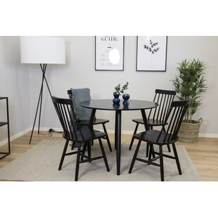Review Neillsville Dining Set With 4 Chairs