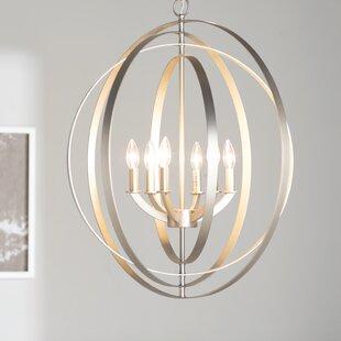 Morganti 6-Light Globe Chandelier
