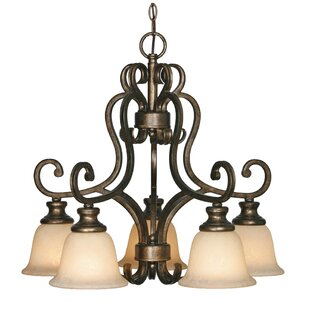Wildon Home ? Cambridge 5-Light Shaded Chandelier