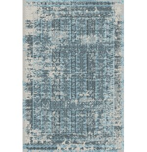 Straley Blue Indoor/Outdoor Area Rug