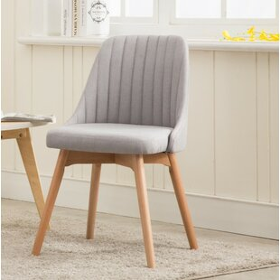 Shellson Upholstered Dining Chair (Set of 2) Wrought Studio