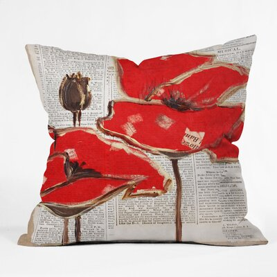 East Urban Home Perfection Outdoor Throw Pillow Size: 16 H x 16 W