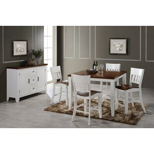 Adalard 6 Piece Dining Set August Grove