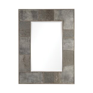 Ophelia & Co. Eustace Metal Panel Accent Mirror