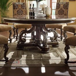 Clearance Renaissance Round Dining Table ByEastern Legends
