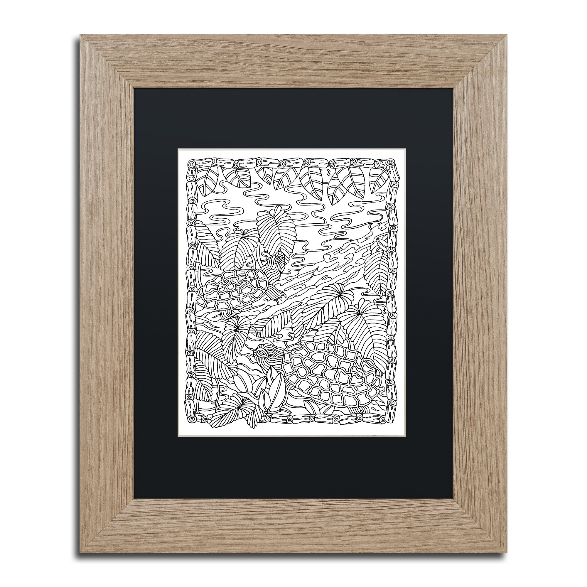 Quot Rock Garden Quot By Kathy G Ahrens Framed Graphic Art