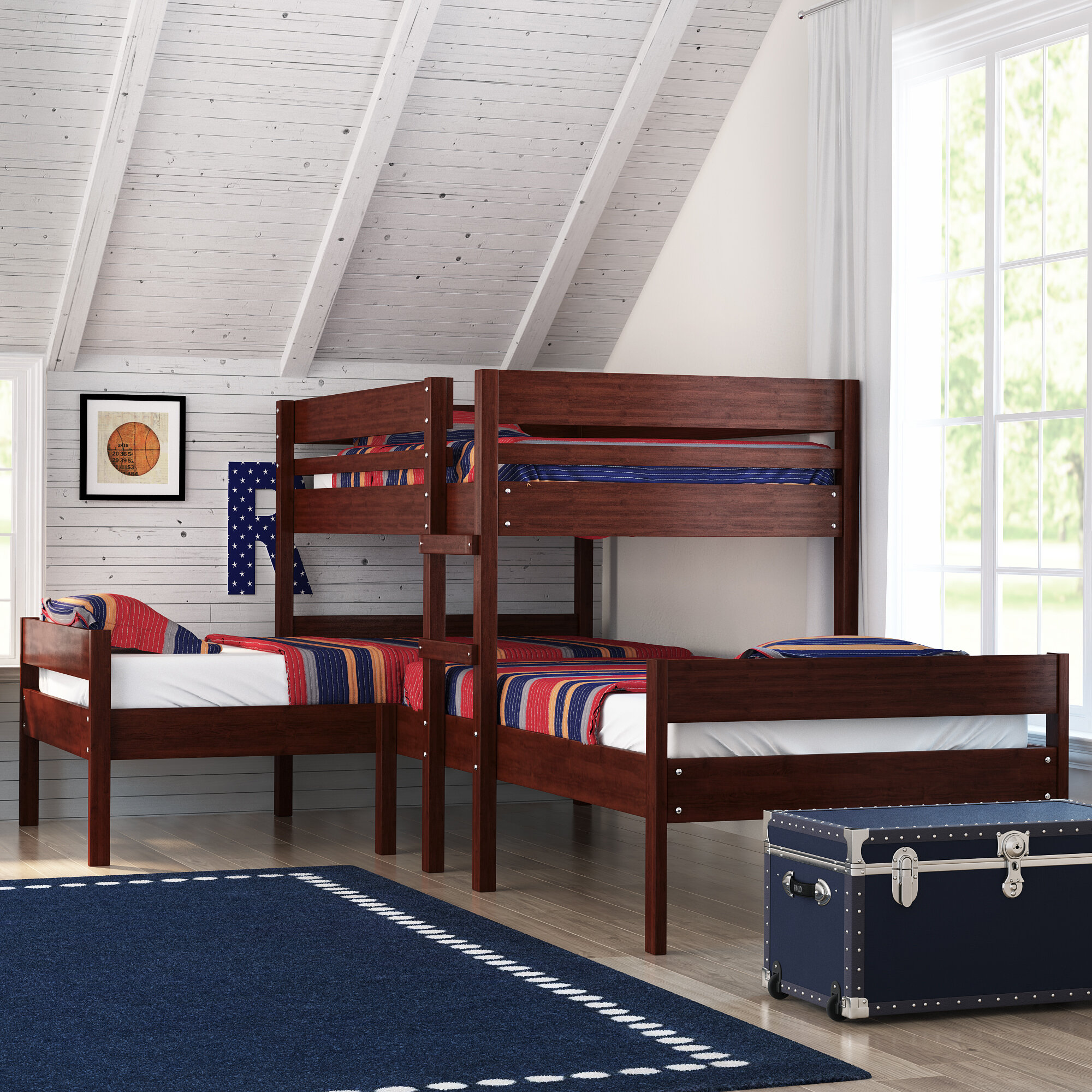 Picture of: Triple Bunk Beds Wayfair