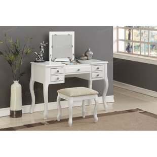 Darby Home Co Jaxton Vanity Set with Mirror