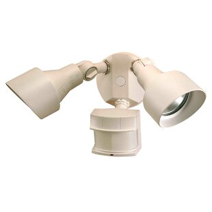 Heath-Zenith Motion Activated Flood Light with Motion Sensor