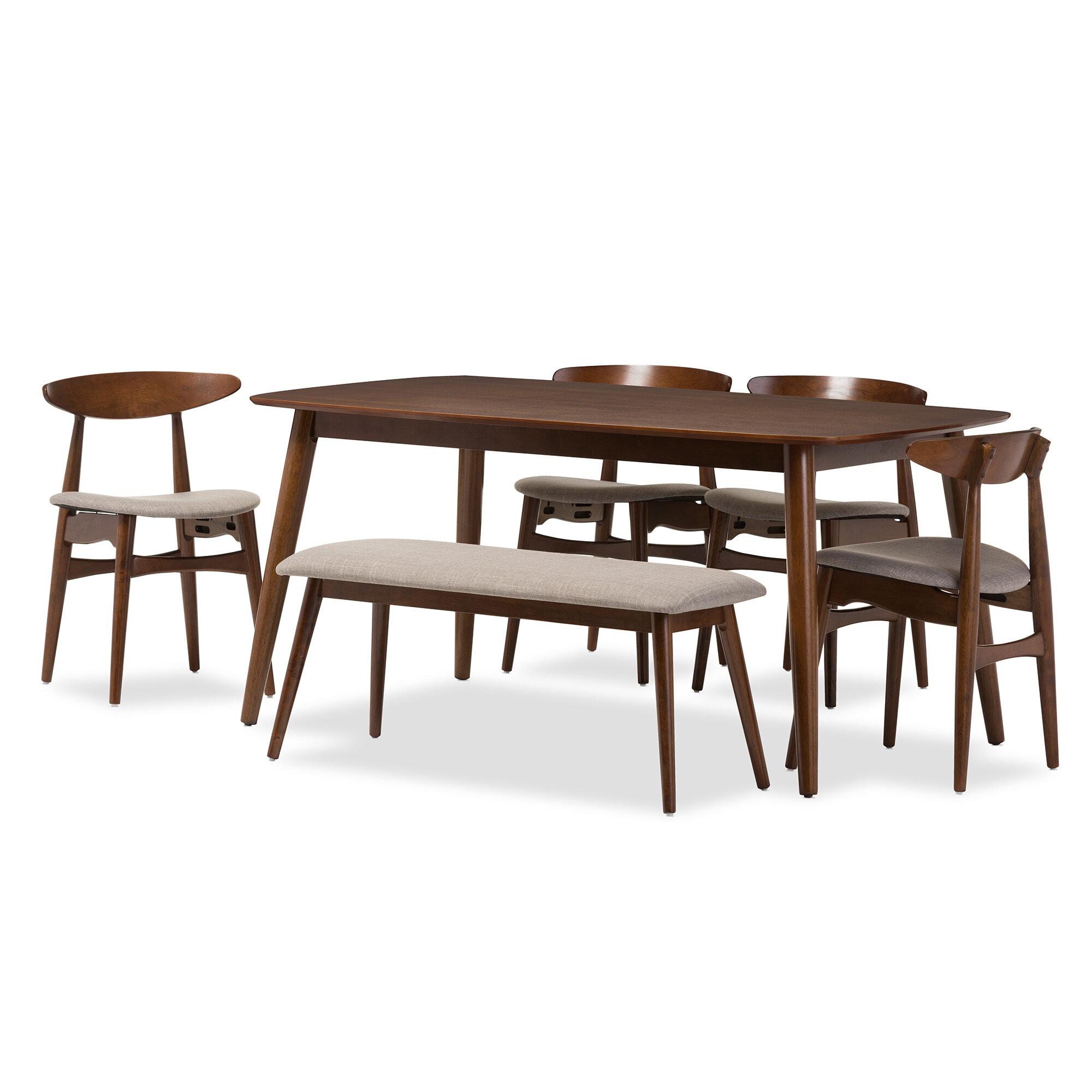 Wholesale Interiors Napoleon 6 Piece Dining Set & Reviews   Wayfair
