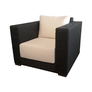 Bayou Breeze Horne Patio Chair with Cushi..