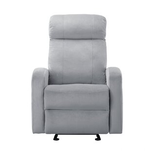 Knepp Overstuffed Classic Manual Recliner