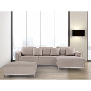 Tachani Reversible Sectional with Ottoman